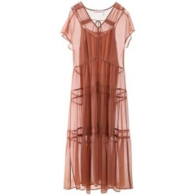 SEE BY CHLOE/シーバイクロエ ドレス BLUSHY BROWN See by chloe tiered dress レディース CHS20URO07025 ik