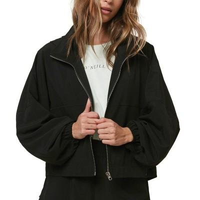 オニール ジャケット&ブルゾン アウター レディース O'Neill Women's Lexington Packable Woven Jacket Black