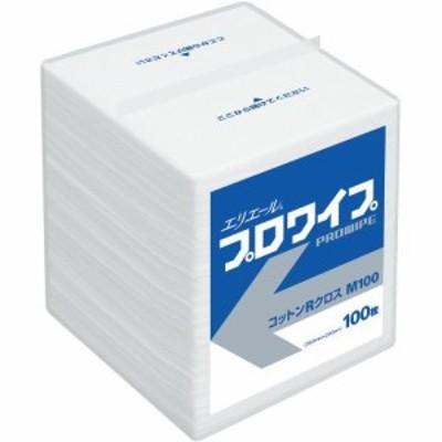 大王製紙 エリエール プロワイプ コットンRクロス M100 100枚入