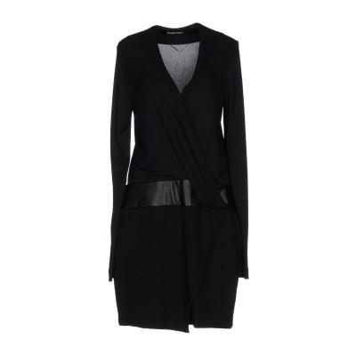 ピンコ PINKO ミニワンピース&ドレス ブラック 42 レーヨン 82% / ナイロン 18% ミニワンピース&ドレス