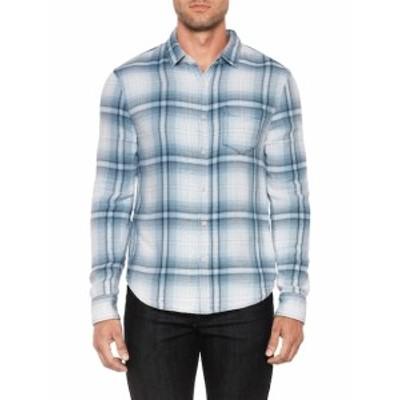 ジョーズジーンズ Men Clothing Plaid Slim Fit Sportshirt