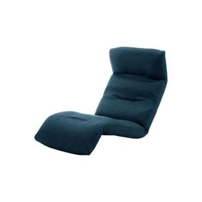 【納期目安:1週間】10163-006 和楽の雲 日本製座椅子・2タイプ・リクライニング付きチェアー (上 タスク ネイビー) (沖縄・離島配送不可)