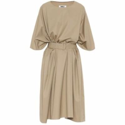メゾン マルジェラ MM6 Maison Margiela レディース ワンピース ミドル丈 ワンピース・ドレス Cotton midi dress Sand