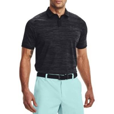アンダーアーマー メンズ シャツ トップス Under Armour Men's Iso-Chill ABE Twist Golf Polo Black