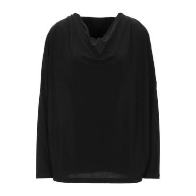ISSEY MIYAKE ブラウス  レディースファッション  トップス  シャツ、ブラウス  長袖 ブラック