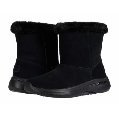 スケッチャーズ ブーツ&レインブーツ シューズ レディース Go Walk Arch Fit - 144402 Black