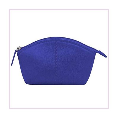 ili New York 6480 Leather Cosmetic Makeup Case (Cobalt)■並行輸入品■