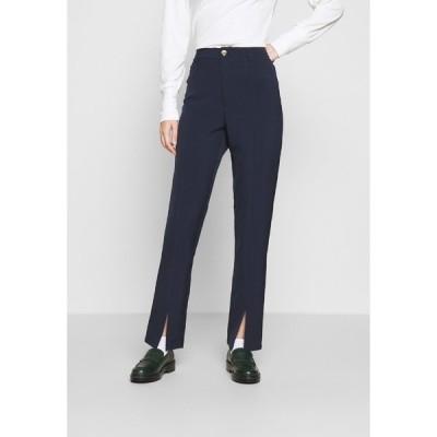 ムーブズ カジュアルパンツ レディース ボトムス LUNI DRESSED PANT - Trousers - navy