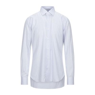 BARBA Napoli シャツ アジュールブルー 38 コットン 100% シャツ