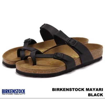 ビルケンシュトック マヤリ メンズ レディース サンダル ブラック BIRKENSTOCK Mayari 071791 071793 Black 幅広 幅狭