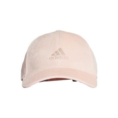 アディダス 帽子 メンズ アクセサリー VELVET BASEBALL CAP - Cap - pink