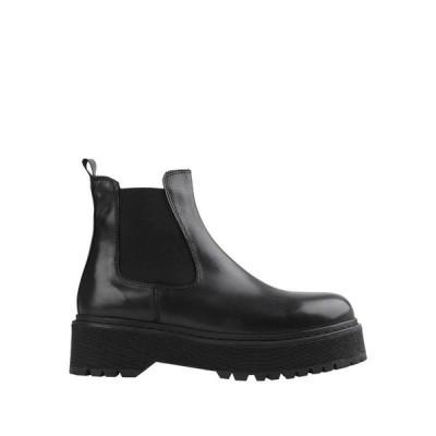 JONAK ショートブーツ ファッション  レディースファッション  レディースシューズ  ブーツ  その他ブーツ ブラック