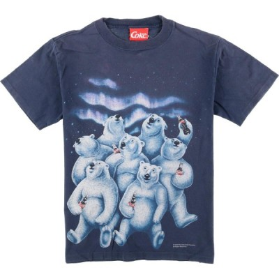COKE アドバタイジングTシャツ メンズM /eaa064436