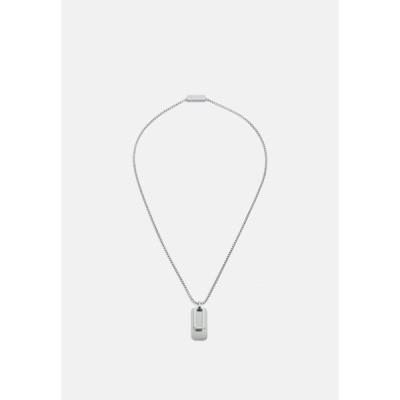 ボス ネックレス・チョーカー メンズ アクセサリー DUAL - Necklace - silver-coloured