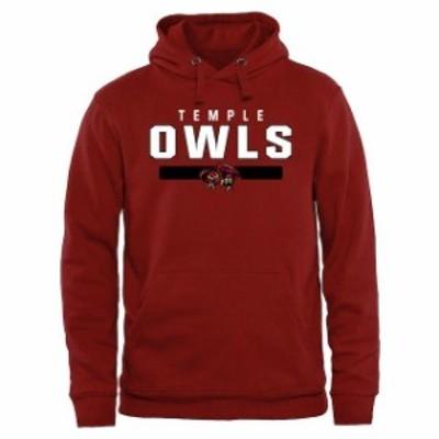 Fanatics Branded ファナティクス ブランド スポーツ用品  Temple Owls Cardinal Team Strong Pullover Hoodie