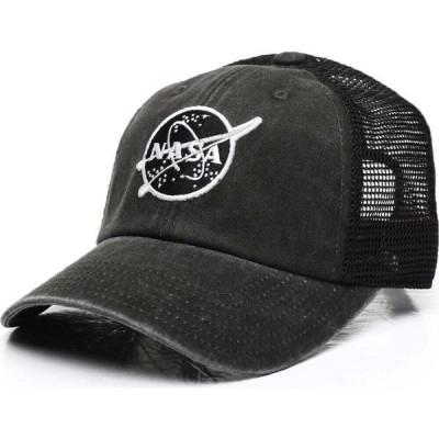 アメリカンニードル American Needle メンズ キャップ スナップバック ラグラン 帽子 Raglan Bones Nasa Strapback Hat Black