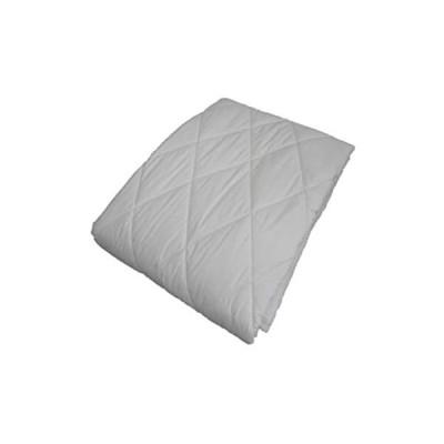 エブリ寝具ファクトリー シングル キナリ 洗える フランス産羊毛100% ベッドパット (きなり (無地) シングル S)