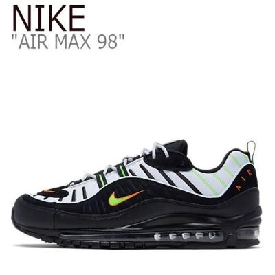 ナイキ エアマックス スニーカー NIKE メンズ レディース AIR MAX 98 エア マックス 98 BLACK ブラック 640744-015 シューズ
