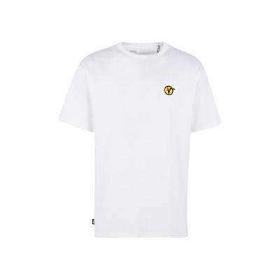 ヴァンズ VANS T シャツ ホワイト L コットン 100% T シャツ