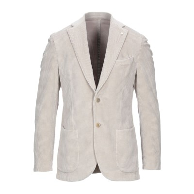 LUIGI BIANCHI Mantova テーラードジャケット ベージュ 54 コットン 98% / ポリウレタン 2% テーラードジャケット