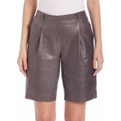 ラファイエット148ニューヨーク レディース パンツ Rivington Leather Shorts