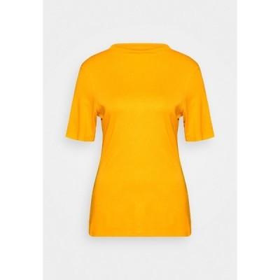 リッチ アンド ロイヤル Tシャツ レディース トップス Basic T-shirt - golden yellow