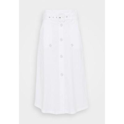 シュテフェン スクラウト スカート レディース ボトムス FANCY SKIRT - A-line skirt - white