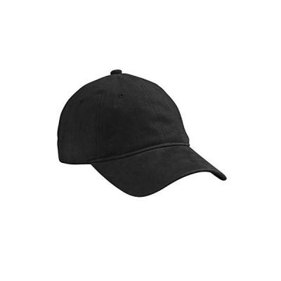 Marky G Apparel 起毛ヘビーウェイトツイルキャップ US サイズ: One Size カラー: ブラック