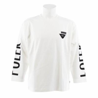 ポーラー(POLER)Tシャツ メンズ 長袖 RVR SMTRELOP S18AW-POLER-005AOFW(Men's)