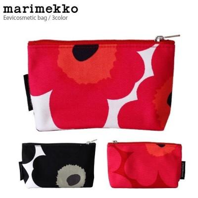 メール便 可 ポーチ マリメッコ Unikko ウニッコ EEVI cosmetic bag 化粧ポーチ 全3色