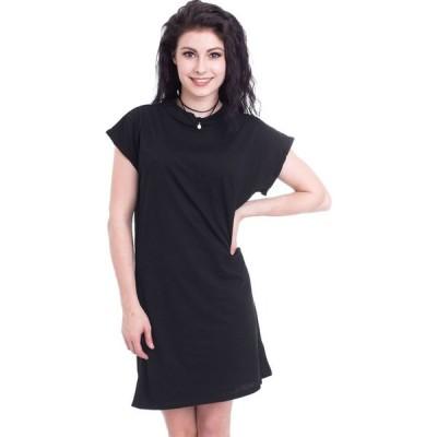 アーバンクラシックス Urban Classics レディース ワンピース ワンピース・ドレス - Turtle Extended Shoulder Black - Dress black