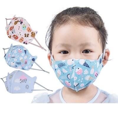 5枚入れ マスク 子供用 夏用 5枚入り ひんやり 洗える 小さめ 涼しいマスク キッズ 幼児 おしゃれ 可愛い 立体マスク 長さ調整 UVカット 蒸れない 紫外線対策