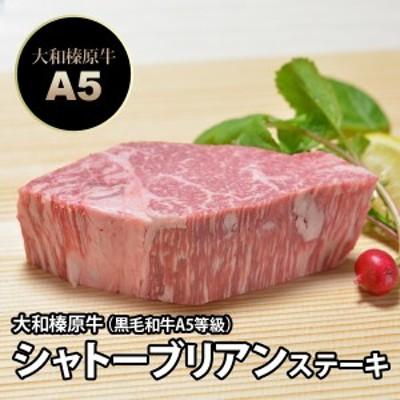 大和榛原牛(黒毛和牛A5等級)シャトーブリアン ステーキ 150g 送料無料 冷蔵便