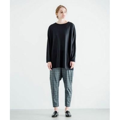 MARcourt/マーコート mizuiro ind クルーネックワイドTシャツ black FREE