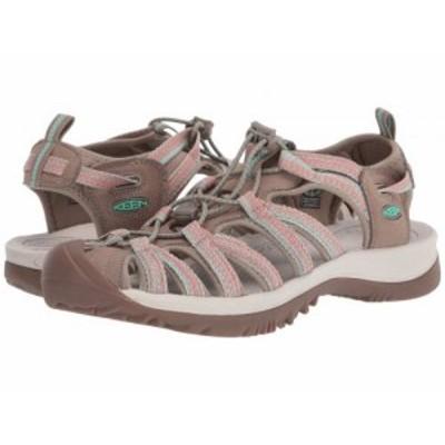Keen キーン レディース 女性用 シューズ 靴 サンダル Whisper Taupe/Coral【送料無料】
