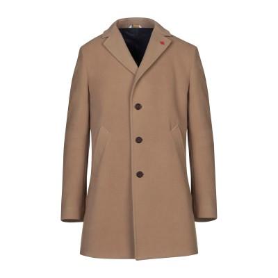 マニュエル リッツ MANUEL RITZ コート キャメル 56 ポリエステル 83% / レーヨン 15% / ポリウレタン 2% コート