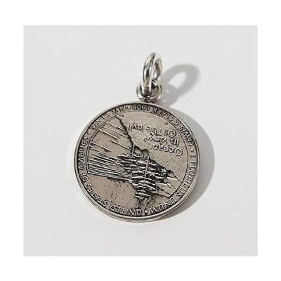 本物のアメリカのコインペンダント(5) シルバー925製 銀 硬貨メンズ レディース アクセサリー