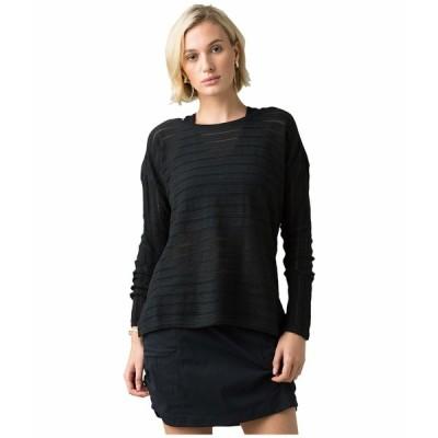 プラーナ ニット&セーター アウター レディース Madeline Sweater Black Solid