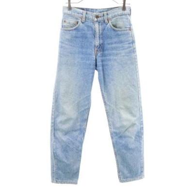 リーバイス 90s USA製  スリムデニムパンツ w29 Levi's ジーンズ ジーンズ メンズ 古着 200831