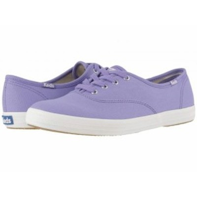 Keds ケッズ レディース 女性用 シューズ 靴 スニーカー 運動靴 Champion Seasonal Solids Aster Purple Canvas【送料無料】