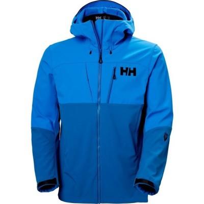 ヘリーハンセン Helly Hansen メンズ ジャケット マウンテンパーカー ソフトシェルジャケット アウター odin mountain softshell jacket Blue Mountain