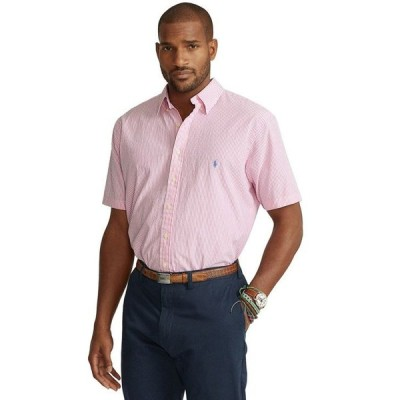 ラルフローレン メンズ シャツ トップス Men's Big & Tall Seersucker Shirt