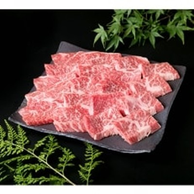 (まるごと糸島)A4ランク糸島黒毛和牛バラカルビ焼き肉500g入り