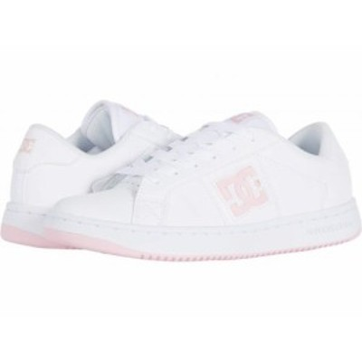 DC ディーシー レディース 女性用 シューズ 靴 スニーカー 運動靴 Striker White/Pink【送料無料】