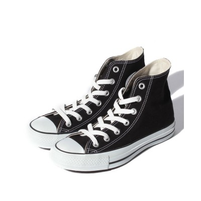 【コンバース】 CANVAS ALL STAR HI ユニセックス ブラック 27.5cm CONVERSE