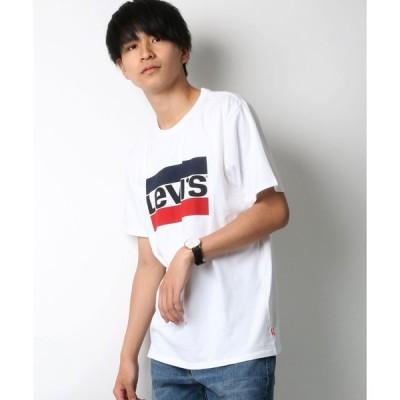 【ラザル】【Lazar】Leiv's/リーバイス スポーツロゴTシャツ