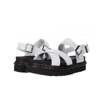 Dr. Martens ドクターマーチン レディース 女性用 シューズ 靴 サンダル Voss II - White