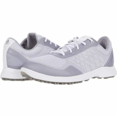 アディダス adidas Golf レディース シューズ・靴 Alphaflex Sport White/Glory Grey/Silver Metallic