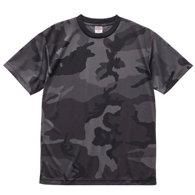 Tシャツ メンズ 半袖 カモフラージュ ドライ 丸首 クルーネック 迷彩
