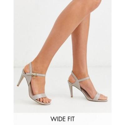 ミス ケージー Miss KG レディース サンダル・ミュール シューズ・靴 wide fit barely there heeled sandals トープ